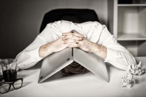 Overwhelmed by work causing mental health issues